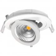 OPTONICA LED Süllyeszthető spot lámpatest/ dönthető, forgatható / 12W/ fehér / meleg fehér /CB3253