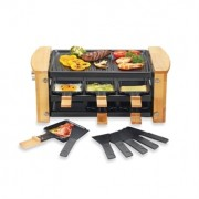Raclette grill 6 poêlons 900 W Kitchen Chef Professional