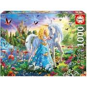 Educa 17654 1000 The Princess and The Unicorn