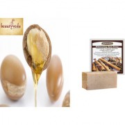Pure and Natural Argan Oil - 250ml with Argussy Cinnamon and Black Sesame Whitening Spa Soap