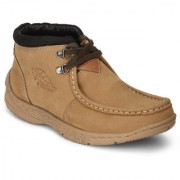 Red Chief Rust Men High Ankle Outdoor Casual Leather Shoes (RC3080 022)