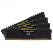 Memorie Corsair Vengeance LPX Black 16GB (4x4GB) DDR4, 2666MHz, PC4-21300, CL16, Quad Channel Kit, CMK16GX4M4A2666C16