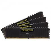 Memorie Corsair Vengeance LPX Black 16GB (4x4GB) DDR4, 2666MHz, PC4-21300, CL16, Quad Channel Kit, CMK16GX4M4A2666C16