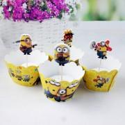 Candy Bar cu Minioni (Cupcakes şi Scobitori), pentru decor deosebit