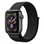 Apple Watch Series 4 GPS 40mm in alluminio grigio siderale - Sport Loop Nero