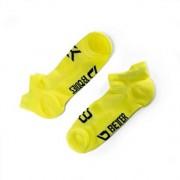 Better Bodies Short Socks 2-Pack, Neon Yellow