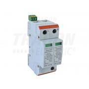 Descarcator de supratensiuni,AC,cl.2,elem.modular inlocuibil TTV2-40-2P 230/400 V, 50 Hz, 20/40 kA (8/20 us), 2P