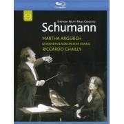 Martha Argerich: Schumann - Symphony No. 4/Piano Concerto [Blu-ray] [2006]