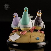 Figura Q-Fig Goodfeathers Los Palomos de Animaniacs Original