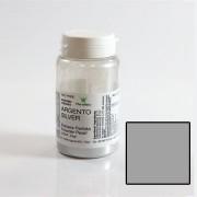 Colorant Alimentar Liposolubil Pudra Metalizata, Argintiu, 25 gr - Azo Free