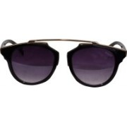 Art Creation Over-sized Sunglasses(Black)