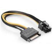 PCI-Express 6 Pin Power Adapter from Single SATA Power