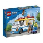 Lego City, Furgoneta cu inghetata, 200 piese, 60253