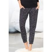 Womens Mia Lucce Slouchy Jogger - Animal Sleepwear Nightwear