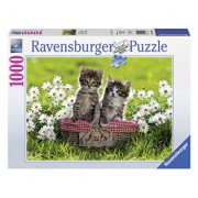 Puzzle Picnic cu pisicute, 1000 piese