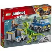 Lego Juniors Jurassic World: Camión de rescate del Raptor (10757)