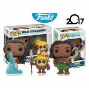 Set Moana Con Kakamora Y Maui Funko Pop Disney Pelicula ENVIO GRATIS