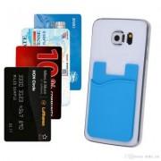 Eurobatt Kortbehållare som fästes på mobilen, upp till 6 kort, Blå