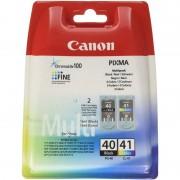Canon PG-40/CL-41 Pack Tinteiro Original Preto/Cor