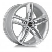 Avus Af6 9x20 5x112 Et45 66.6 Silver - Llanta De Aluminio