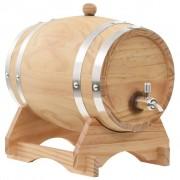 Sonata Бъчва за вино с канелка, борова дървесина масив, 6 л