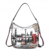 Y Not? Borsa Donna Y NOT Shopping a Spalla K-373 Autumn In London