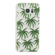 Fabienne Chapot Smartphone covers Palm Leaves Softcase Samsung Galaxy S7 Edge Groen