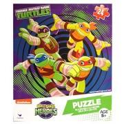 Cardinal Teenage Mutant Ninja Turtles Half Shell Heroes 24 Piece Puzzle Turtle Power Ages 5+