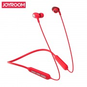 JOYROOM JR-D5 Double Moving Coil Sports Bluetooth Earphone with Mic - Red