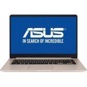 Ultrabook Asus VivoBook S510UA Intel Core Kaby Lake R (8th Gen) i5-8250U 256GB SSD 8GB Endless FullHD Bonus Geanta Laptop Natec Impala