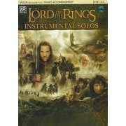 Alfred Music The Lord of the Rings Instrumental Solos for Strings: Violin (with Piano Acc.), Book & CD