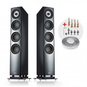 "Teufel ""Definion 3 high-end stereo luidsprekerpaar, antraciet"""