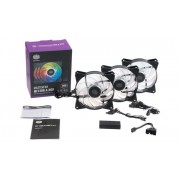 Coolermaster R4-120r-203c-r1 3x Mf 120 Addressable Rgb Fan + 1x Contr