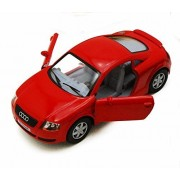 Audi Tt Coupe, Red Kinsmart 5016 D 1/32 Scale Diecast Model Toy Car