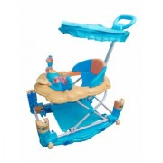 Oh Baby 7 In 1 Function Duck Shape Musical Blue Color Walker For Your Kids JAI-SRE-SE-W-15