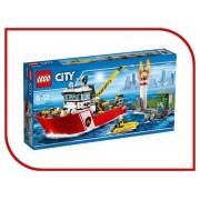 Lego Конструктор Lego City Пожарный катер 60109
