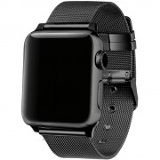 Apple FOHUAS milanese loop for apple watch Series 3 2 1 replacement bracelet band iwatch stainless steel strap buckle with connector
