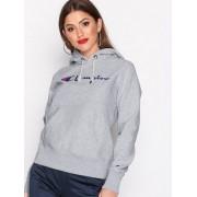 Champion Hooded Sweatshirt Hoods Grey Melange