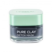 L´Oréal Paris Pure Clay Detox Mask maschera viso detergente intensiva 50 ml donna