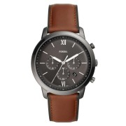Fossil Men's Neutra Chronograph Brown Leather Watch Model FS5512