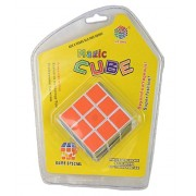 FunBlast™ 3x3x3 Sticker Speed Cube Smooth Magic Cube Puzzle Vivid Colors, Stickered Edition