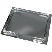 Kingsley Bandeja rectangular con espejo y varillas de vidrio