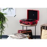 VakantieVeilingen.be Retro platenspeler voor zowel vinyl als digitaal (rood)