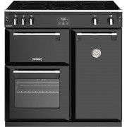 Stoves Richmond S900Ei Black 90cm Electric Induction Range Cooker