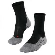 Falke RU4 Wool Women Running Socks Black
