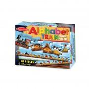 Puzzle de podea Trenul alfabet, 28 piese, 3 ani+