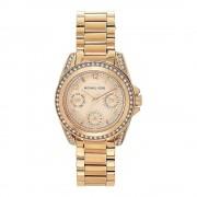 Michael Kors orologi Mk5613 Ladies cronografo oro rosa acciaio di tono