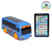 Smiles Creation Bus Toy Vehicle with P1000 Kids Educational Learning Tablet