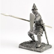 Russian Infantry Second line of The 1242 Metal Sculpture. Russian Foot Soldier of The Second line 1242 Year. Tin Toy Soldiers. Collection 54 mm The (1/32 Scale) Figurine. Soldier of tin Toys