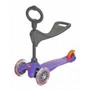 scuter Mini Micro 3 în 1 violet (violet)